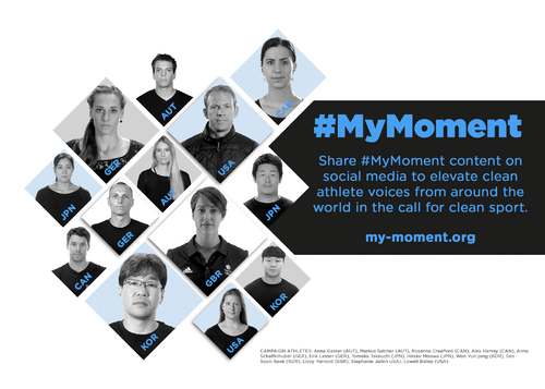 Postcard #mymoment Kampagne