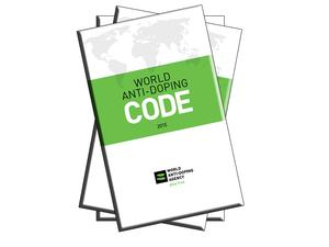 Bild zeigt die erste Seite des Welt-Anti-Doping-Codes
